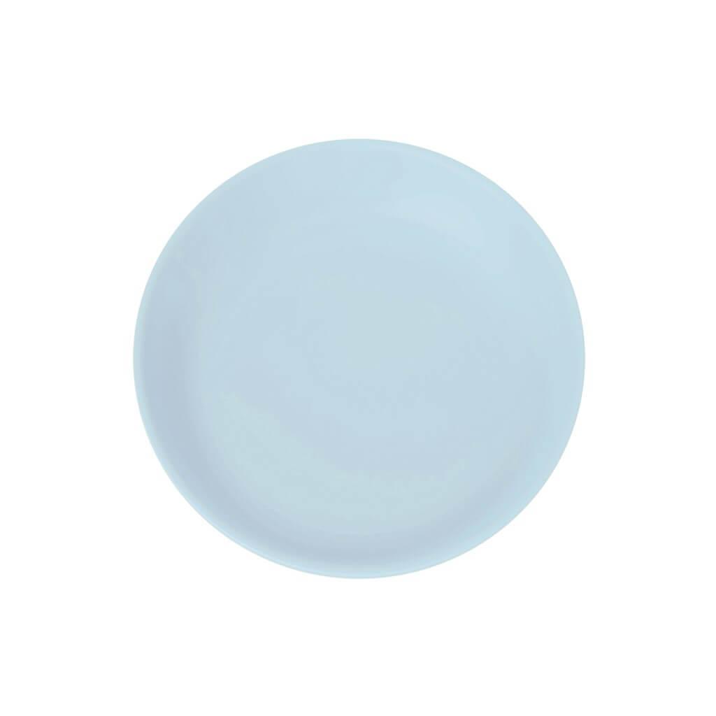Assiette Plate Incassable bleu clair ø 21cm (Lot de 6)