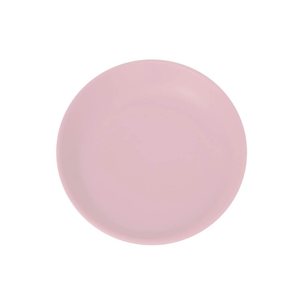 Assiette Plate Incassable rose clair ø 21cm (Lot de 6)