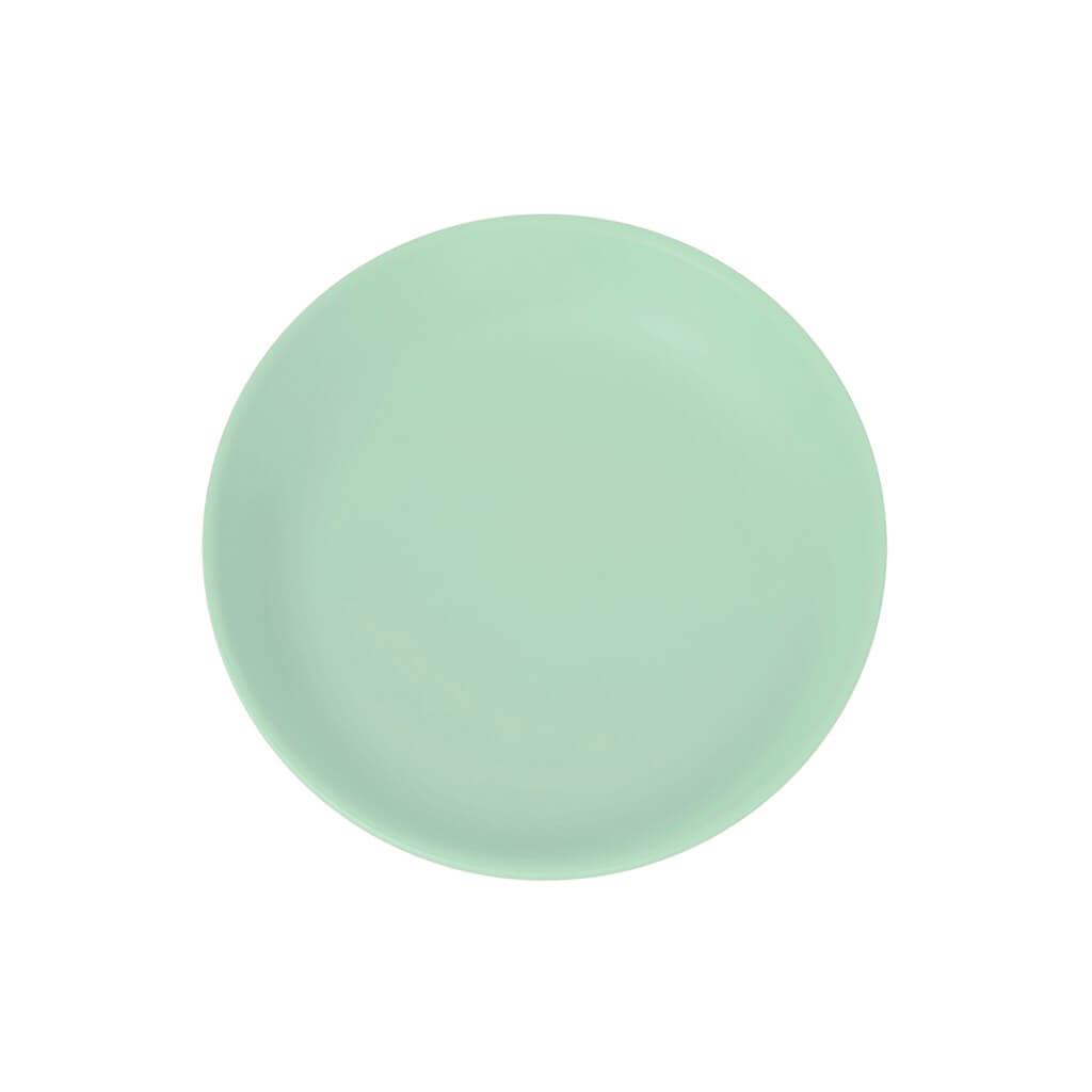 Assiette Plate Incassable Vert Pastel ø 21cm (Lot de 6)