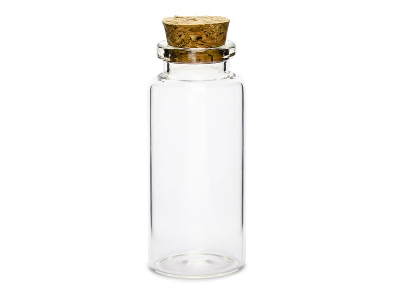 Bouteille en verre cadeaux invités (Lot de 12)
