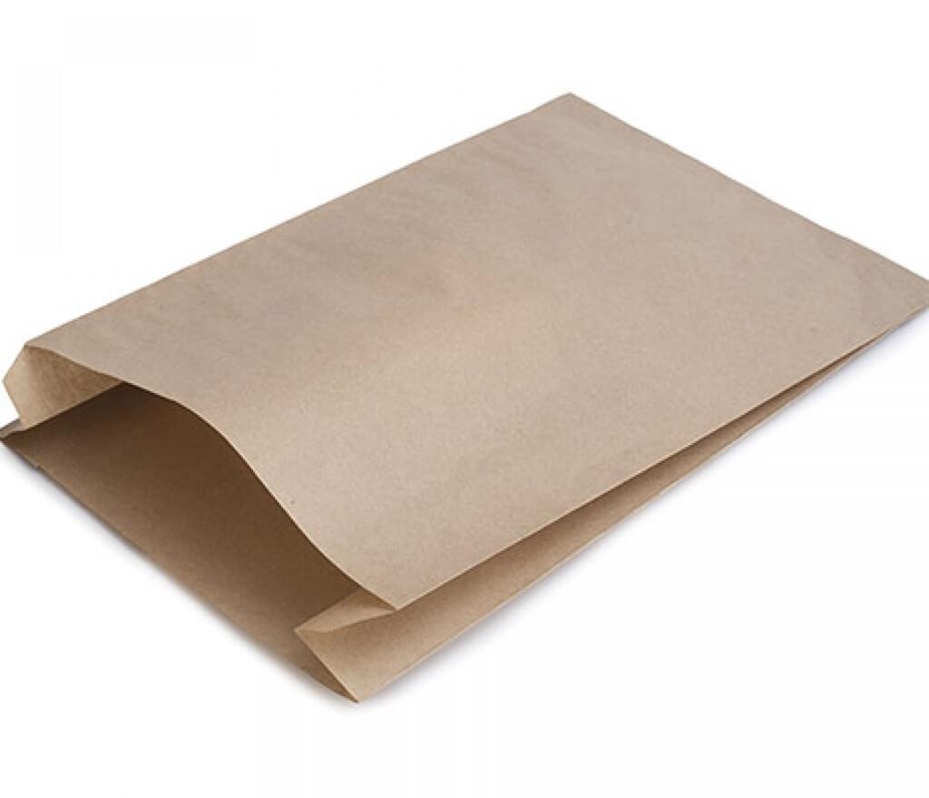Sac Croissant en Papier Kraft 135x250 + 60mm (Lot de 200)