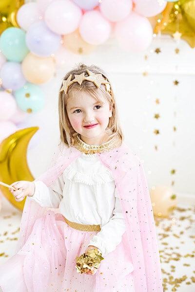 Cape Costume Princesse Rose