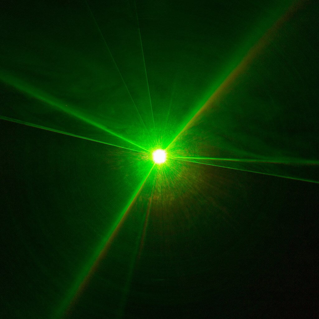 MACHINE LASER MULTICOLORE - KUB 255 RGB - BOOMTONE DJ