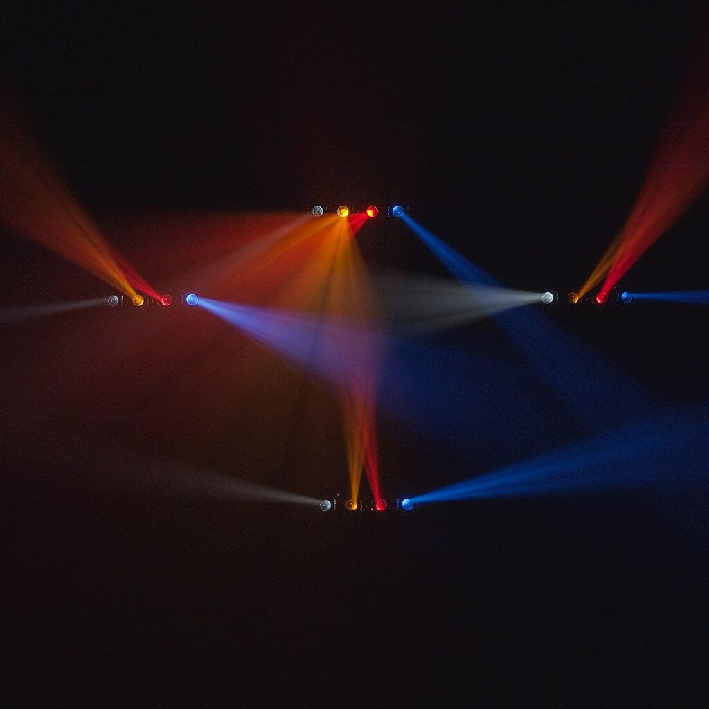 MACHINE EFFET LED - QUATTRO MOON STAR - BOOMTONE DJ
