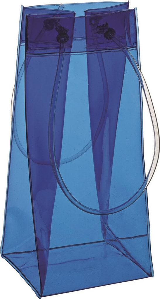 Sac Vin/Champagne Bleu - 25.5cm