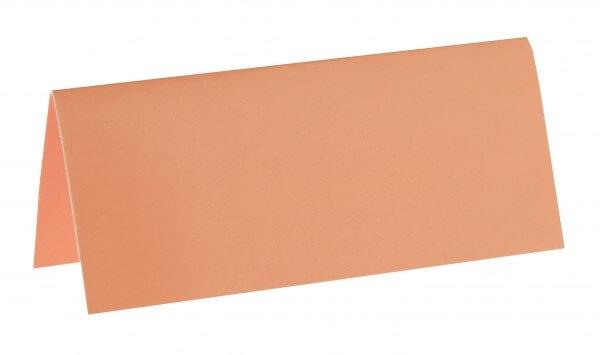 Marque-place rectangle Corail - Lot de 10