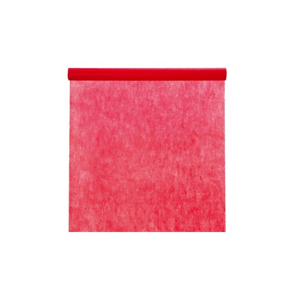 Nappe en rouleau intissé Rouge - 10m*120cm