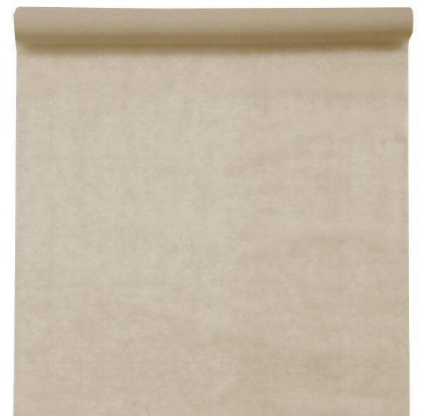 Tapis de cérémonie ivoire - 15m x 100cm