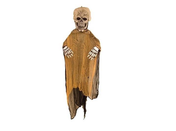 Fantôme avec voile halloween - 180cm